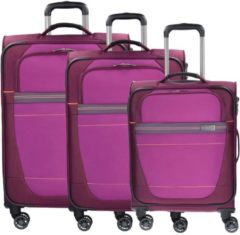 Travelite Weichgepäcktrolley Set mit 4 Rollen, »Meteor«