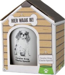 Witte Paper dreams Mok – Cavalier King Charles-spaniel– Dier – Puppy – Hond – Dieren – Mokken en bekers – Keramiek – Mokken - Porselein - Honden – Cadeau - Kado
