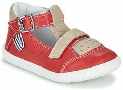 Rode Hoge Sneakers GBB BERETO