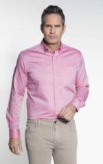 Roze Donkervoort Casual overhemd met lange mouwen