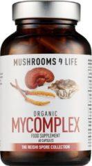 Mushrooms4Life / Reishi MyComplex Paddestoel Biologisch – 60 caps
