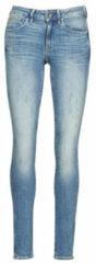 Blauwe Skinny Jeans G-Star Raw MIDGE ZIP MID SKINNY WMN