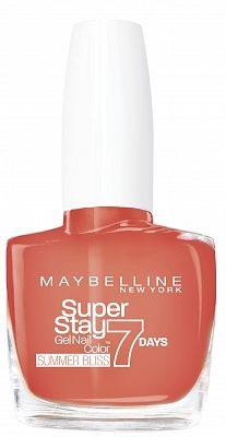 Afbeelding van Rode Maybelline SuperStay 7 days Summer Bliss nagellak - 872 Red Hot Getaway