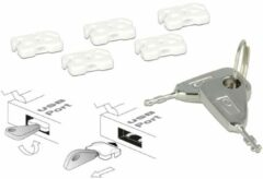 Delock USB-poortblokkering voor USB-bussen van het type A