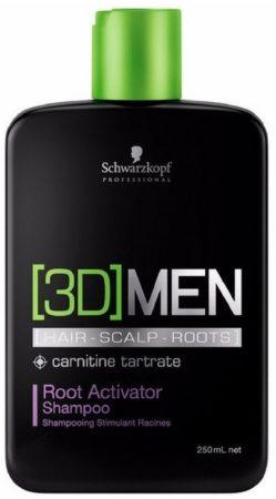 Afbeelding van Schwarzkopf Professional Schwarzkopf 3Dmen Root Activator Mannen Zakelijk Shampoo 250 ml