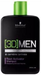 Schwarzkopf Professional Schwarzkopf 3Dmen Root Activator Mannen Zakelijk Shampoo 250 ml