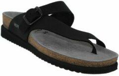 Mephisto HELEN SANDALBUCK - Volwassenen Dames slippersMoederdag - Kleur: Zwart - Maat: 35