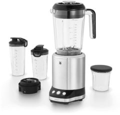 Zilveren WMF KULT X blender / smoothie-maker / multifunctionele mixer, 900 watt