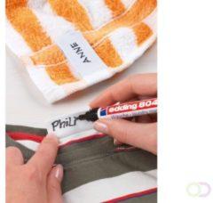 Viltstift edding 8040 wasgoed rond zwart 1mm