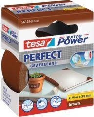 Tesa tesa Extra Power Textieltape Bruin (l x b) 2.75 m x 38 mm Rubber Inhoud: 1 rollen