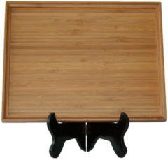 Naturelkleurige Bamdura tableware Bamboe Serveerschaal