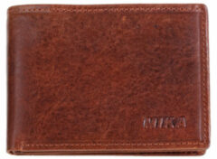 Transparante Juscha JU-42223 Portefeuille Mika Bruin Mini RFID 13,5x11x3,5cm