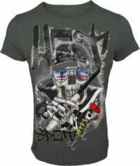 Zwarte Hotspot Design T-Shirt Hotspot - Maat XXL
