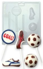 Transparante PME Legend PME Candy Mould - Football/Soccer