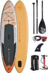 "Oranje Aqua Marina - Magma - 11'2"" - 2021 - Opblaasbare sup board - Allround advanced - Touring - 15PSI - Geschikt voor elk niveau"