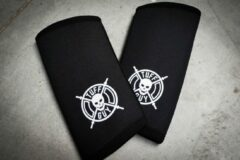 Zwarte Tuff Guy Sports Tuff Guy - Professionele Elbow Sleeves -Maat S -7mm- Heavy Duty Support en Hulp bij Fitness, Bodybuilding, Powerlifting, Gewichtheffen en Crossfit