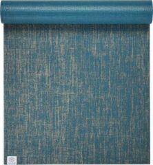 Gaiam Jute Yoga Mat - Blauw - 173 X 61 X 0.5 Cm
