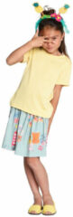 Room Seven Jersey t shirt tipo voor meisjes geel