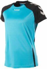 Lichtblauwe Hummel Aarhus Dames Shirt - Voetbalshirts - blauw licht - L