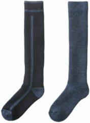 HEMA 2-pak Heren Skisokken Blauw (blauw)