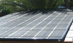 Solar4pool 16 m2 zwembadverwarming 266 cm x 600 cm
