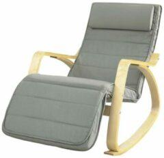 Simpletrade Schommelstoel | Comfortabel | Verstelbaar | Trendy | Grijs