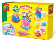 Rode Ses Creative Klei Je Eigen Drup Cakejes Junior Multicolor