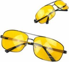 Sitna Nachtbril Autorijden - Geel - Bril Slecht Weer - Nachtzien Autorijden Bril - Noodweer Bril Rijden - Mistbril