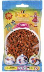 Hama Strijkkralen 0020 bruin 1000 stuks