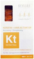 Revuele KERATIN+ Ampoules Hair Restoration Activator 8 x 5ml.