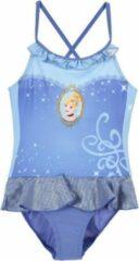 Blauwe Disney Princess Badpak - Cinderella - 98