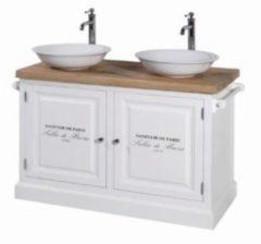 Badkamermeubel set van Heck New Colonial 120 cm Wit