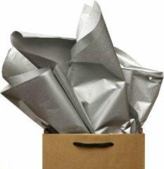 ArtiPack Vloeipapier Zilver 50x75cm 100vel Vloeipapier Silver metallic