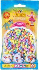 Paarse Hama strijkkralen pastel mix / pastelkleuren mix, zakje met 1.000 stuks