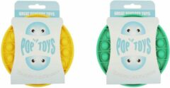 Pop It Fidget Toy pakket groen + Geel | Fidget Toy Pakket | Pop It | Popit | Combi deal | Trexo