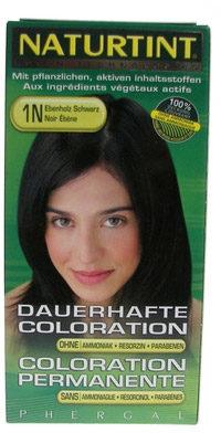 Afbeelding van Naturtint Permanente Haarkleuring 1N Ebbenhoutzwart