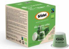 Bristot 100% Biologische Composteerbare Koffie Capsules (Nespesso© Compatible) - 10 x 10 stuks