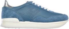 Blue Hogan Scarpe sneakers donna in pelle h222 h forata
