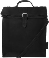 Laauw Dagrugzak Nine Streets Canvas Laptop Bag 15 Inch Zwart