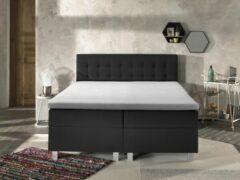 Witte Topmatras - Full Hybrid kern - Dreamhouse Silver Line Topdekmatras - 180x200 - Geschikt voor ieder bed en boxspring