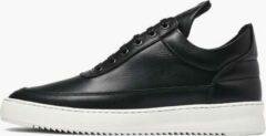 Zwarte Filling Pieces Low Top Ripple Nappa Black - Heren Sneakers - Maat 43