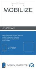 Transparante Mobilize MOB-46760 iPhone 7 Doorzichtige schermbeschermer 2stuk(s) schermbeschermer