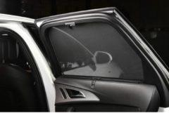 Zwarte Car Shades Carshades Fiat Stilo Wagon 2001-2007 autozonwering