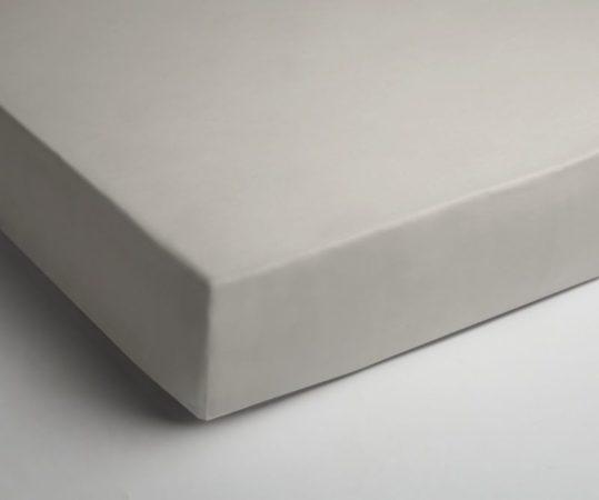 Afbeelding van Creme witte Papillon slopen - percale - set van 2 - 60 x 70 - Crème