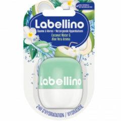 Lichtblauwe Labello Labellino Lippenbalsem Kokos Aloe Vera