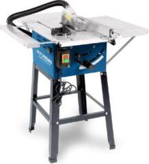 Hyundai Power Products Hyundai tafelcirkelzaag 1500W incl. 24-tands zaagblad - zaagtafel / zaagmachine met stofafzuiging en onderstel