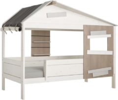 Witte Lifetime Kidsroom Life Time Hutbed The Hideout Whitewash - Basis