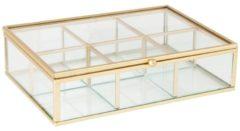 Khadija Theedoos / glas / goud / 20 x 15 x 5 cm