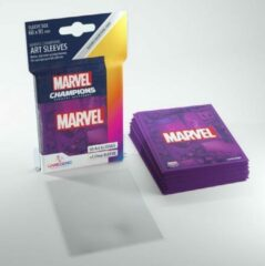 Marvel Purple Art Sleeves Gamegenic