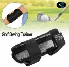 Zilveren Jobber Golf - Golf Swing Trainer - Golf correctie elleboog - Golf Accessoires - Verstelbaar - Zwart